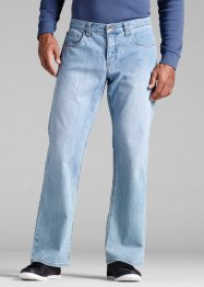 Stretch-Jeans Regular Fit Bootcut, John Baner JEANSWEAR, hellblau