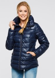 Steppjacke mit Stehkragen, bpc bonprix collection, dunkelblau
