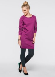 Sweatkleid, bpc bonprix collection, violettorchidee