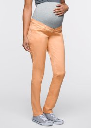 Umstandsmoden-Skinny-Stretch-Hose, bpc bonprix collection, aprikose