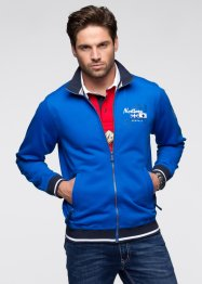 Sweatjacke, bpc selection, azurblau