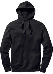 Sweatshirt m. Kapuze Regular Fit, bpc bonprix collection, schwarz