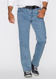 Stretch-Jeans Classic Fit Straight, John Baner JEANSWEAR, hellblau