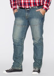 Jeans Regular Fit Straight, John Baner JEANSWEAR, blau (dirty)