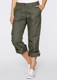 Cargo-Hose, bpc bonprix collection, dunkeloliv
