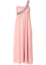One-Shoulder-Maxikleid, BODYFLIRT, altrosa