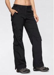 Funktions-Outdoorhose, bpc bonprix collection, schwarz