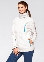 Stretch-Softshell-Jacke, bpc bonprix collection, wollweiß