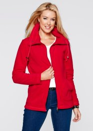 Fleece-Jacke, bpc bonprix collection, puderrosa