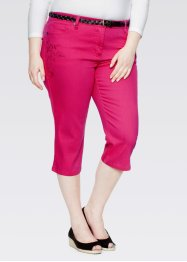 Capri-Stretch-Hose, bpc bonprix collection, karibikblau