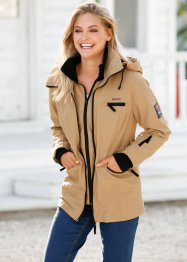 Funktions-Outdoorjacke, bpc bonprix collection, cappuccino
