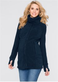 Umstandsjacke aus Fleece, bpc bonprix collection, dunkelblau