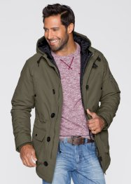 Parka Regular Fit, bpc bonprix collection, dunkeloliv