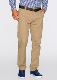 Chino-Hose Regular Fit Straight, bpc bonprix collection, cappuccino