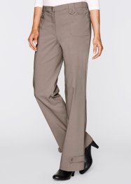 Bengalin-Stretchhose, bpc bonprix collection, taupe