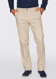 Stretch-Chino im Regular Fit Straight, bpc selection, schwarz