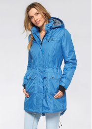 Funktions-Outdoor-Parka, bpc bonprix collection, mittelblau