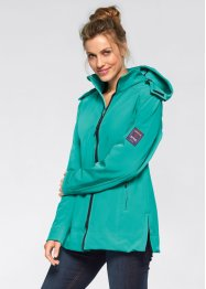 Stretch-Softshelljacke, bpc bonprix collection, pazifikgrün