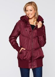Stepp-Jacke, bpc bonprix collection, ahornrot