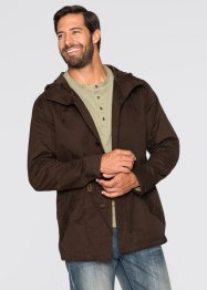 Parka Regular Fit, bpc bonprix collection, dunkelbraun