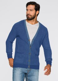 Strickjacke Regular Fit, John Baner JEANSWEAR, grau meliert