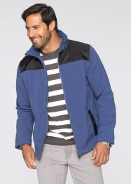 Softshell-Jacke Regular Fit, bpc selection, indigo