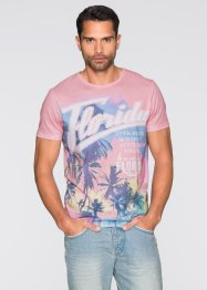 T-Shirt Slim Fit, RAINBOW, bunt bedruckt