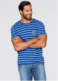 T-Shirt Regular Fit, John Baner JEANSWEAR, khakigrün gestreift