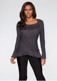 Sweatshirt, BODYFLIRT boutique, grau