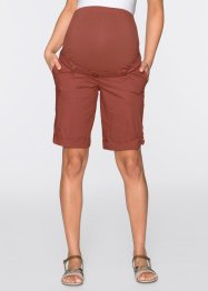 Umstandsshorts, bpc bonprix collection, marsalabraun