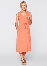 Shirt-Kleid - designt von Maite Kelly, bpc bonprix collection, lachs