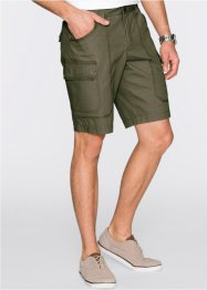 Cargo-Bermuda Loose Fit, bpc selection, dunkeloliv
