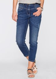 7/8 Girlfrend- Stretchjeans, bpc bonprix collection, blue stone used