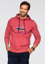 Sweatshirt m. Kapuze Regular Fit, bpc selection, rot