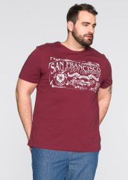 T-Shirt Regular Fit, bpc bonprix collection, bordeaux