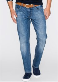 Stretch-Jeans Regular Fit Straight, John Baner JEANSWEAR, blau