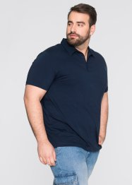Stretch-Poloshirt Slim Fit, bpc bonprix collection, dunkelblau