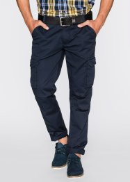 Cargo-Hose Regular Fit Straight, bpc bonprix collection, dunkelblau