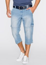 3/4 Jeans Regular Fit, John Baner JEANSWEAR, blue bleached