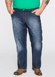 Jeans in Loose Fit Straight, John Baner JEANSWEAR, dunkelblau