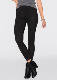 Jeggings im Materialmix, RAINBOW, schwarz