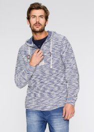 Sweatshirt mit Kapuze Regular Fit, John Baner JEANSWEAR, blau