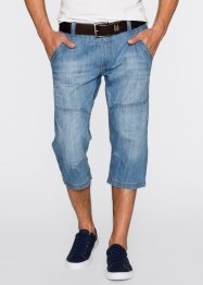 3/4-Jeans Regular Fit, John Baner JEANSWEAR, blau