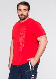 T-Shirt, Regular Fit, bpc bonprix collection, rot