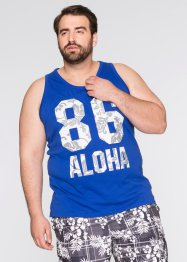 Tank-Top Regular Fit, bpc bonprix collection, blau