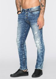 Jeans Regular Fit Tapered, RAINBOW, blue used