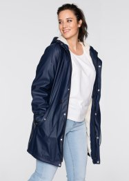 Outdoor-Langjacke mit Teddyfleece, bpc bonprix collection, dunkelblau