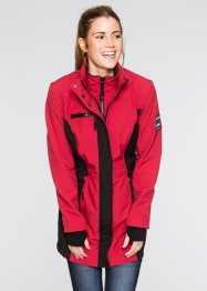 Softshelljacke mit 2 in 1-Optik, bpc bonprix collection, dunkelrot