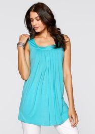 Stretch-Top, bpc bonprix collection, aqua
