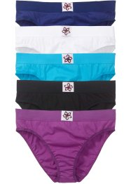 Slip (5er-Pack), bpc bonprix collection, multi